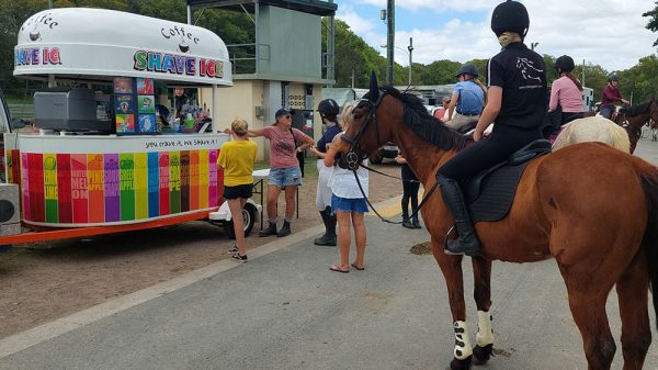 special sporting and team event cool food van amywhere on the sunshine coast